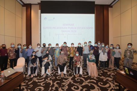 Survei 'Virtual' Pelayanan Publik 2020 Selesai
