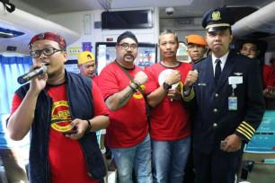 Ilustrasi: Sosialisasi di Atas Kereta, Balmon Gandeng PT KAI Daop 8 Surabaya