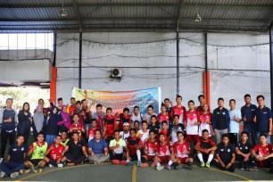 Ilustrasi: Meriahkan Hari Bakti Postel,  Sosialisasi Dirangkai  Turnamen Tenis Meja dan Futsal