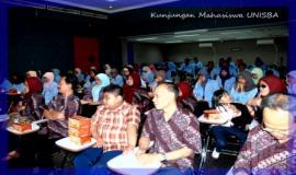 Kunjungan mahasiswa UNISBA dalam acara pembahasan Pemanfaatan Data Statistik di Ditjen SDPPI