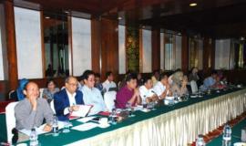 Suasana acara workshop di Hotel Sari Pan Pasific yang dihadiri oleh para pejabat Ditjen SDPPI