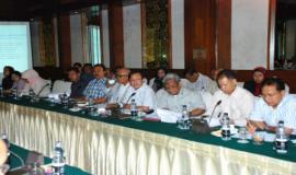Suasana acara workshop yang bertempat di Hotel Sari Pan Pasific