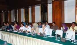 Suasana acara workshop saat peserta sedang menyimak pemaparan yang disampaikan oleh narasumber