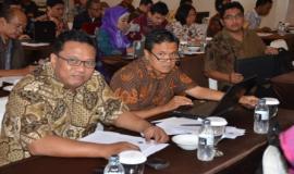 Para peserta Bimbingan Teknis Penataan Sistem Manajemen SDM Aparatur dalam Rangka Analisis Jabatan