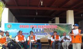 "Upacara Peresmian Kegiatan "" Ohoiew-Kei Islands ORARI IOTA Dxpedition 2012"""