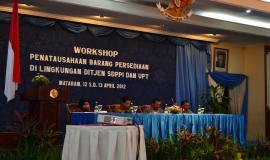 Pembukaan Workshop Penatausahaan Barang Persediaan