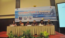 Para Narasumber Konsultasi Publik dan Workshop Manajemen SDPPI di wilayah Palu