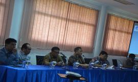 Dirjen SDPPI (Bapak M. Budi Setiawan) memberikan pengarahan terkait hasil penyusunan program dan anggaran tahun 2015 serta evaluasi kinerja tahun 2014