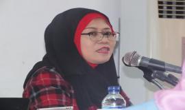 Kepala Bagian Penyusunan Program dan Pelaporan, Ibu Fidyah Ernawati memberikan arahan terkait dengan penyusunan Data Statistik Ditjen SDPPI Semester 2 Tahun 2014