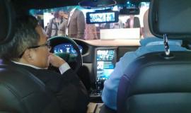 Salah satu yang dipamerkan pada acara Mobile World Congress adalah smart wireless car, Dirjen SDPPI, Muhammad Budi Setiawan berkesempatan untuk melakukan uji coba mobil tersebut, dimana semua display memberikan informasi mesin, lokasi, kaca spion yang terhubung dengan internet