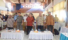 Peserta Menyanyikan Lagu Indonesia Raya