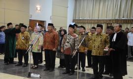 Pengambilan Sumpah Pejabat yang dilantik