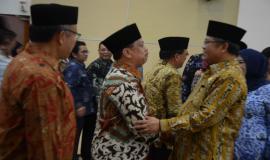 Menteri Komunikasi dan Informatika mengucapkan selamat kepada pejabat eselon II yang sudah dilantik
