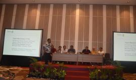 Dari Kelompok I ( Agus ) Perwakilan dari Balmon Jogyakarta menpresentasikan Tugas Monitoring 17 Pita 2/11/2017