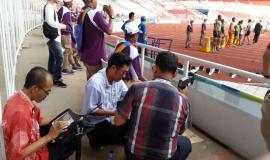 UPT Bidang Monitor Spektrum Radio DKI Jakarta, memonitor kegiatan Asian Games 2018