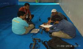 Tim Monitoring Dirjen SDPPI, mendata perangkat pendukung guna mensukseskan Asian Games 2018