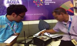 Direktorat Jenderal SDPPI, (Kemkominfo) mengantisipasi gangguan frekuensi radio selama test event Asian Games 2018
