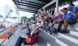 Plt,Direktur Pengendalian Ditjen SDPPI (Nuhaedah) Ikut mengawasi kegiatan Asian Games 2018