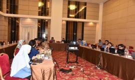 Kabag Perencanaan Program dan Pelaporan, Arifah mengatakan bahwa kegiatan evaluasi ini merupakan suatu proses dalam satu lingkaran proses perencanaan