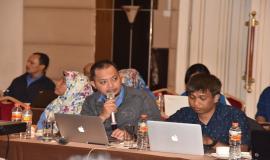 Direktorat Pengendalian SDPPI (Yogo) menyampaikan laporan evaluasi e - kinerja 2017 sesuai dengan Tupoksinya