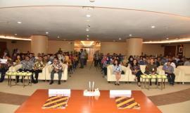 Acara ini dihadiri oleh (ujung kiri-kanan) Sekretaris Ditjen SDPPI Sadjan, Dirjen SDPPI Ismail, Direktur Bisnis Konsumer BNI Anggoro Eko Cahyo, Pemimpin Divisi Bisnis Kartu BNI Okki Rushartomo, para pejabat BNI, pejabat eselon dua Sekretariat Jenderal dan Ditjen SDPPI, serta tamu undangan.