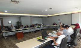 Peserta rapat Evaluasi Uji Coba Implementasi E-Licensing dari SDPPI, ORARI Pusat, dan RAPI Nasional.