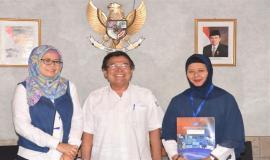 Kabag Perencanaan Program dan Pelaporan Fidyah Ernawati,SE.MM  Digantikan oleh Dra. Arifah,MTi