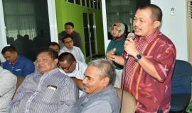 Ka.UPT Banten ( A.Sazili) memberikan saran dan masukan terkait dengan Tupoksinya