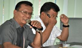 Ka. UPT Banda Aceh (Musriadi) memberikan masukan dan saran terkait dengan Tupoksinya