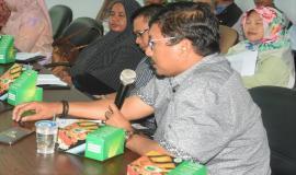 Ka.UPT Padang (Zaenullah) memberikan masukan atau saran terkait dengan penerbitan alat yang belum disertifikasi