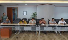 Anggota DPRD Salatiga dalam kegiatan kunjungan kerja ke Direktorat Operasi Sumber Daya Ditjen SDPPI (8/5/18).
