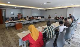 Situasi kunjungan kerja DPRD Salatiga ke Direktorat Operasi Sumber Daya Ditjen SDPPI (8/5/18).