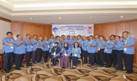 Foto bersama pada acara Pelatihan Manajemen Survival di Jakarta (16/5).