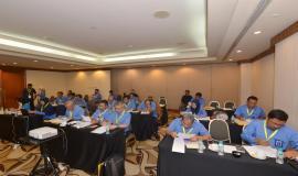 Kegiatan pelatihan diawali dengan pre-test untuk mengukur kompetensi yang telah dimiliki oleh peserta pada acara Pelatihan Manajemen Survival di Jakarta (16/5).