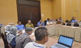 Dirjen SDPPI Ismail memberikan arahan kepada para wartawan pada acara FGD (23/5).