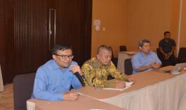 Direktur Operasi SDPPI Dwi Handoko turut memberikan arahan pada acara FGD (23/5).