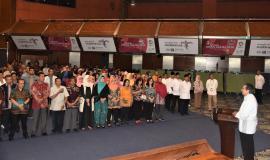 Dirjen SDPPI, Kemkominfo (Ismail)  menyampaikan terima kasih kepada para pegawai non Muslim yang telah menunjukkan toleransi dan kebersamaan yang luar biasa karena tanpa mereka kita tidak bisa menjalankan ibadah suci Ramadhan dengan baik.