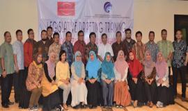 Foto Bersama Peserta Pelatihan Legislative Drafting Perkuat Hukum Bidang Frekuensi 16/8 2018