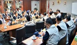 Dirjen SDPPI Ismail pada 16 Agustus lalu juga telah memberikan pengarahan khusus kepada Tim Ditjen SDPPI di Gedung Sapta Pesona Lantai 13, Jakarta.