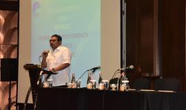 Dirjen SDPPI (Ismail) Memberikan Arahan Kepada Para Undangan e-Skp Direktorat Jenderal Sumber Daya Dan Perangkat Pos Dan Informatika  10/9 2018