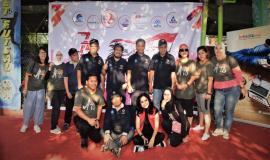 Foto Bersama Tim dari SDPPI dengan Panitia Turnamen Futsal Hari Bhakti Postel ke 73 15/9 2018