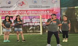 Sambutan Ketua Pelaksana Turnamen Futsal (Setia Gunawan) 15/9 2018