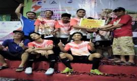 Tim dari Direktorat Jenderal Sumber Daya Dan Perangkat Pos Dan Informatika (Ditjen SDPPI) Mendapat Predikat Juara I Turnamen Futsal Hari Bhakti Postel 15/9 2018