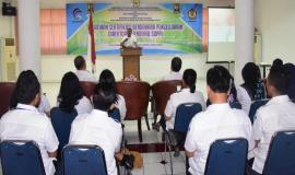 Direktur Jenderal Sumber Daya dan Perangkat Pos dan Informatika (Ismail) membuka acara Pelatihan Sertifikasi Bendahara Pengeluaran 8/10 2018