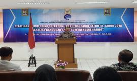 Penutupan oleh Kepala Pusat Pendidikan dan Pelatihan Kominfo Usuluddin (26/10).