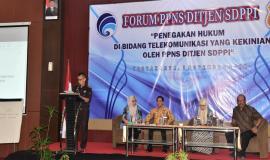 Kepala Seksi Penertiban Standar Perangkat Pos dan Informatika, Ditjen SDPPI, Iwan Purnama, selaku ketua panitia forum ini, dalam laporannya menyampaikan bahwa Forum PPNS ini merupakan yang kedua setelah yang pertama pada 2017