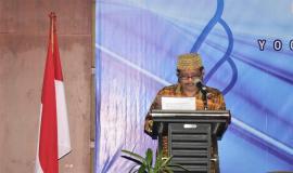Petugas Pembaca Do'a dalam acara Forum PPNS Ditjen SDPPI Tahun 2018,Soroti Kemajuan Teknologi 1/11