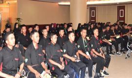 Peserta Kunjungan Siswa SMK Negeri Rajapolah Tasikmalaya, Jawa Barat 8/11 2018