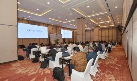 Situasi saat kegiatan Workshop IoT dan Smart City berlangsung (14/11).