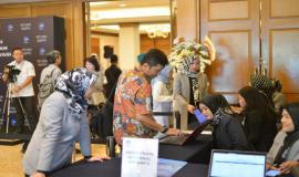 Undangan melakukan registrasi dalam kegiatan Launching Inovasi dan Penganugerahan Apresiasi Mitra Inovasi SDPPI 2018 (26/11).